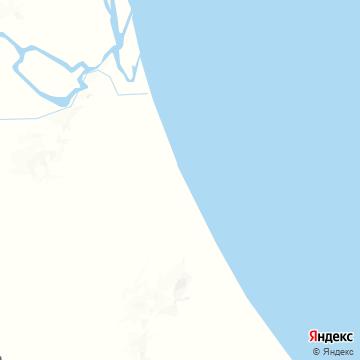Карта Тортукеро