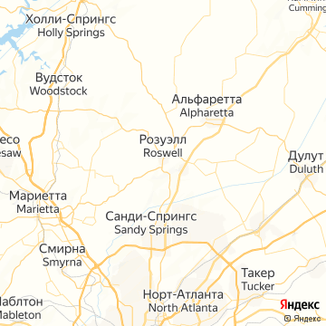 Карта Розуэлла