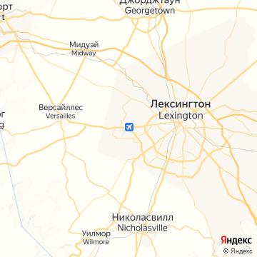 Карта Лексингтона