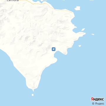 Карта Тамбора