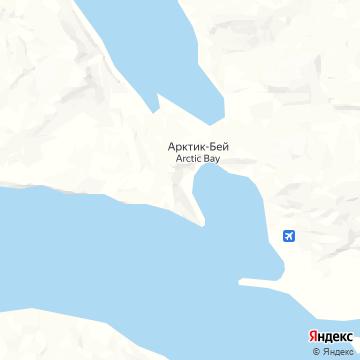 Карта Arctic Bay