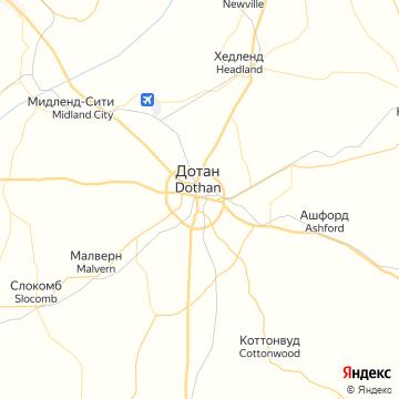 Карта Дотана