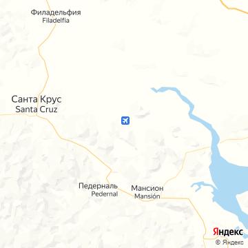 Карта Playa Samara