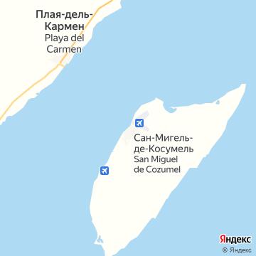 Карта Коцумела