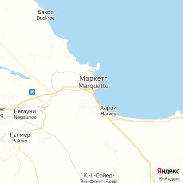 Карта Маркетт