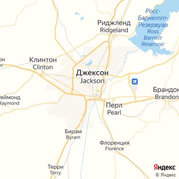 Карта Джексона