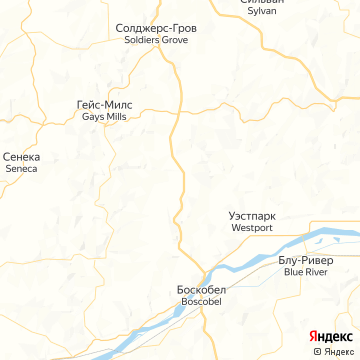 Карта Советcкий