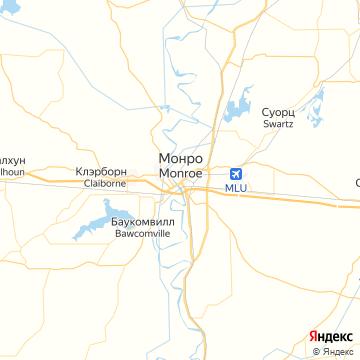 Карта Монро