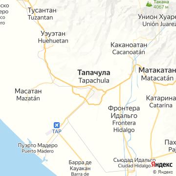Карта Тапачулы