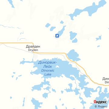 Карта Драйдена
