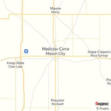 Карта Мэйсона Сити