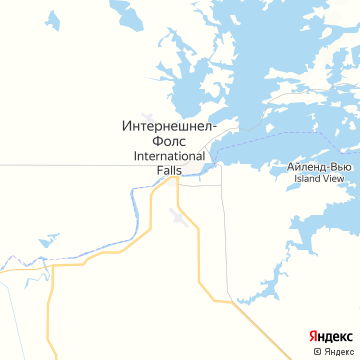 Карта Форта-Франсис