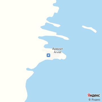Карта Аривата