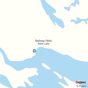 Карта Бейкера-Лейка