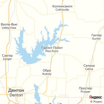 Карта Pilot Point