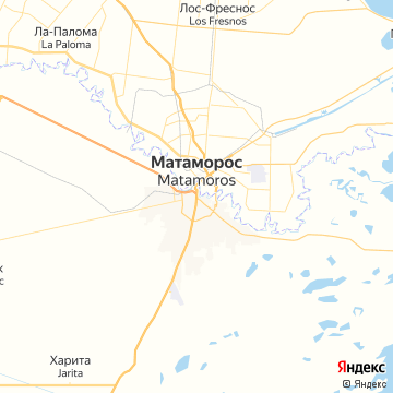 Карта Матамороса