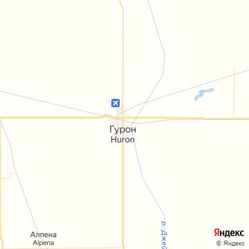 Карта Гурона