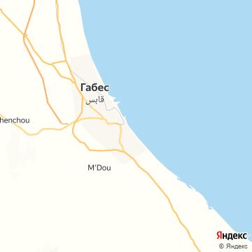 Карта Габеса