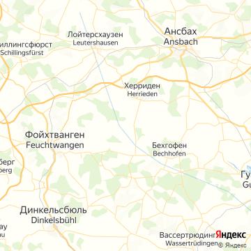 Карта Цирндорф