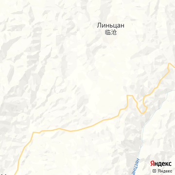 Карта Lincang