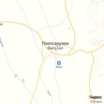 Карта Пхитсанулка