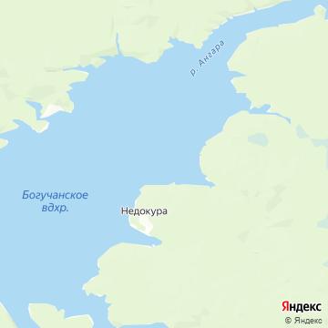 Карта Недокуры
