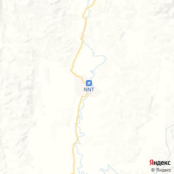 Карта Нана Таиланд