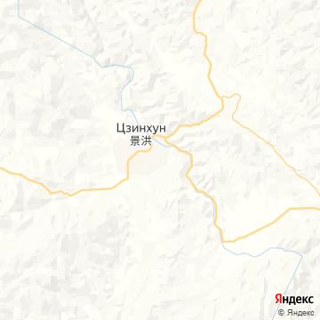 Карта Цзиньхонга