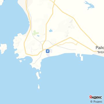 Карта У-Тапао