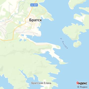 Карта Порожского