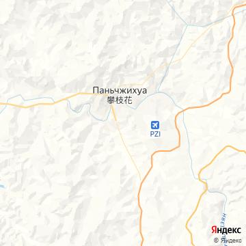 Карта Панжихуа