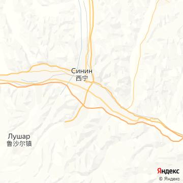 Карта Синина