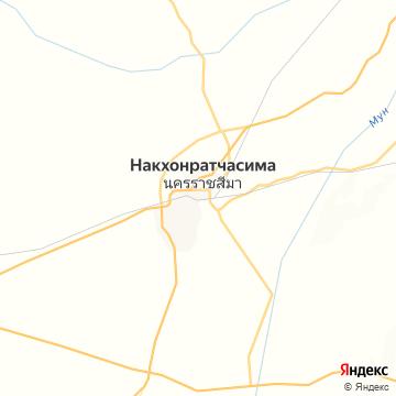 Карта Нахона-Ратчасимы