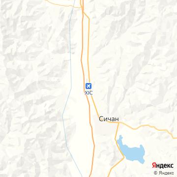 Карта Хайчэн