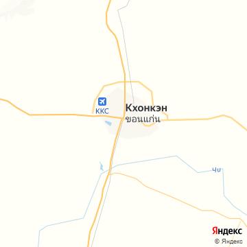 Карта Кхон Каен