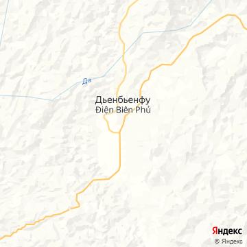 Карта Дьена Бьена Фу