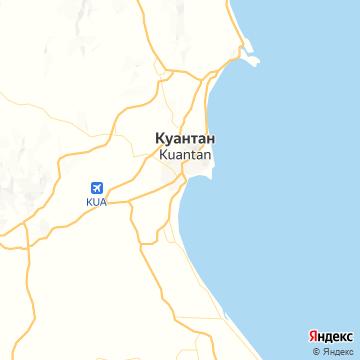 Карта Куантана