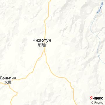 Карта Жаньтона
