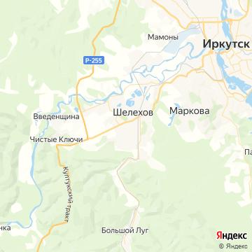 Карта Шелехова