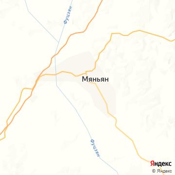 Карта Мьяна Янга