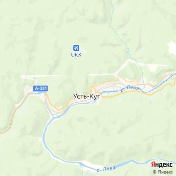 Карта Лены