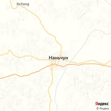 Карта Наньчона