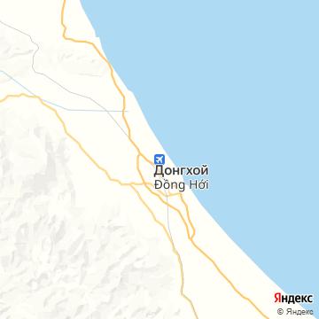 Карта Донга Хоя