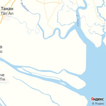 Карта Кона Дао