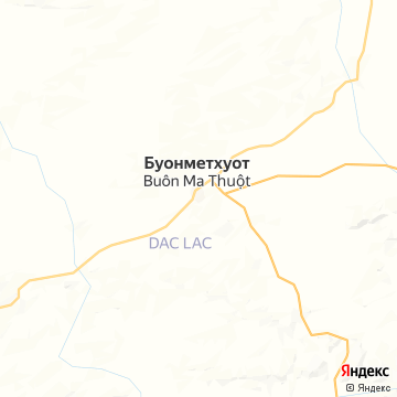Карта Буонматхуота