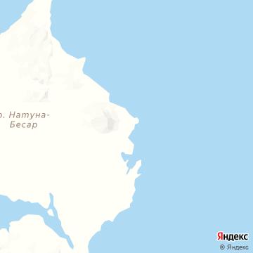 Карта Натуны-Раная