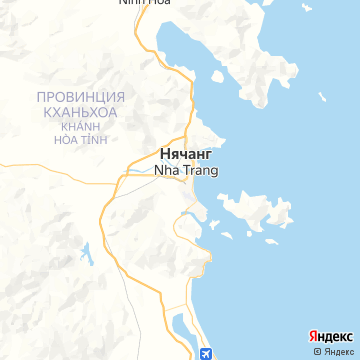 Карта Нхи Транг