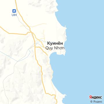 Карта Куинхона