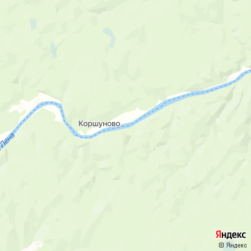 Карта Коршуново