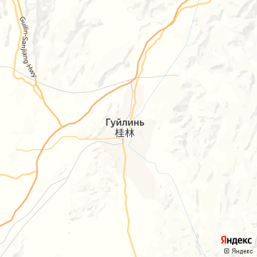 Карта Гуйлинь